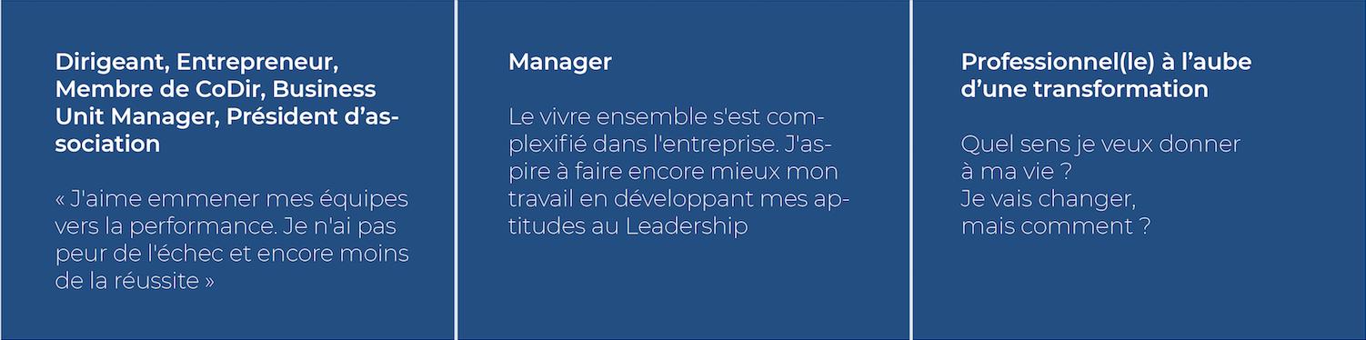 coaching transformation dirigeants managers